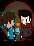 Korra and Mako
