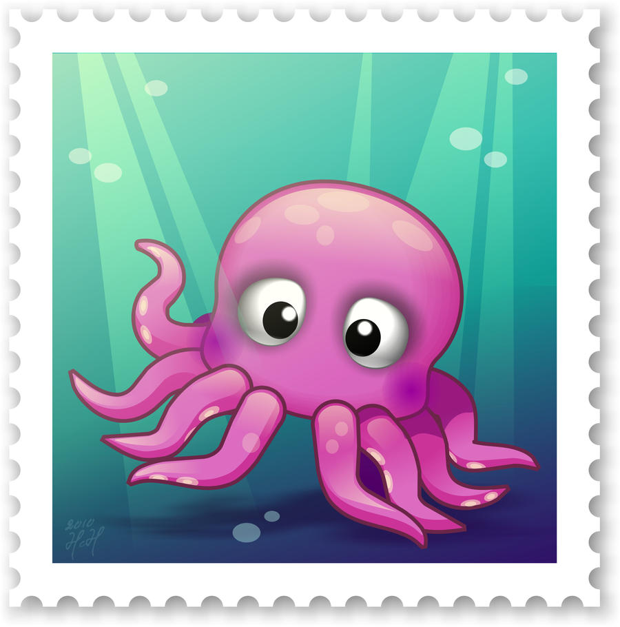 Cute Octopus Logo Cute Octopus by Daydreamoz