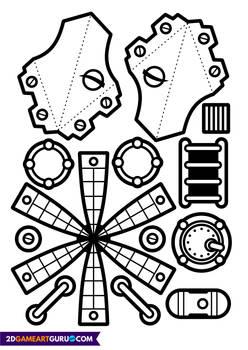 2D RollMonster Rocket1b