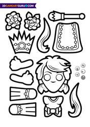 2D RollMonster Princess