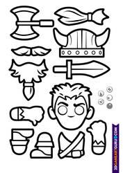 2D RollMonster Viking1b