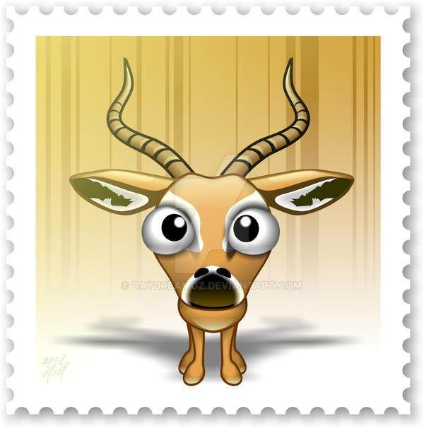 Cute Zoo - I for Impala by DayDreamOz