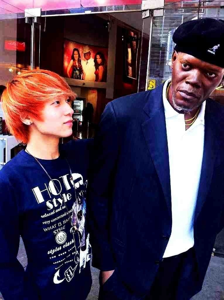L.Joe met Samuel Jackson? by Akistuki-Kaze