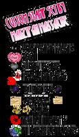 Monster High Sticker Sheet by MarzipanMassacre
