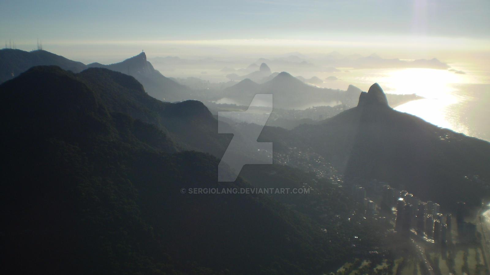 Pedra Da Gavea, Rio De Janeiro, Brazil by SergioLang