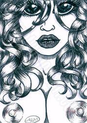 Michie by NaughtyliciousArt