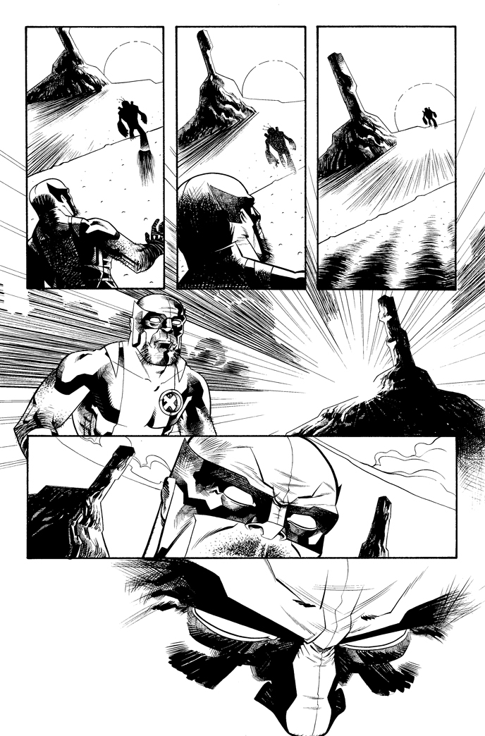 Decoy, Chapt. 1, Page 6, Inks by Inkpulp