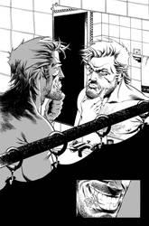 Deadpool 55, page 2, Inks by Inkpulp