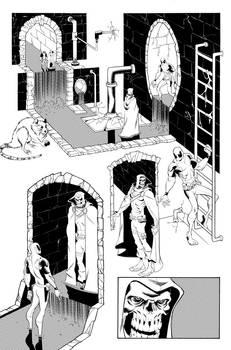 Deadpool 57, Page 19 Inks