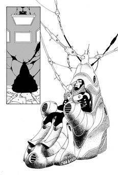 Deadpool 57, Page 20 inks