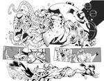 Fantomex MAX, Issue 3, page 3 and 4