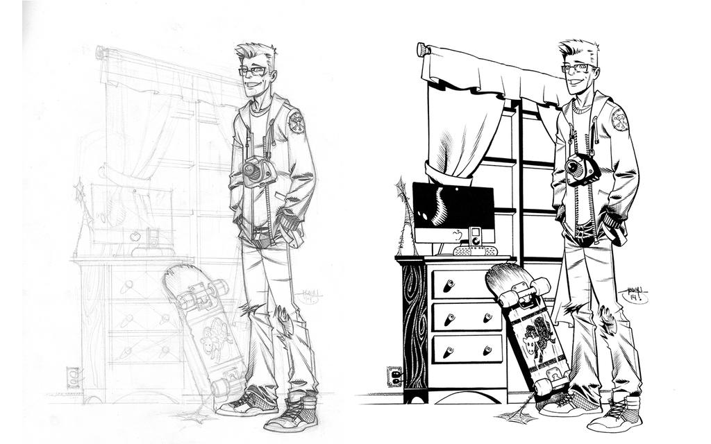 Peter Parker by Inkpulp