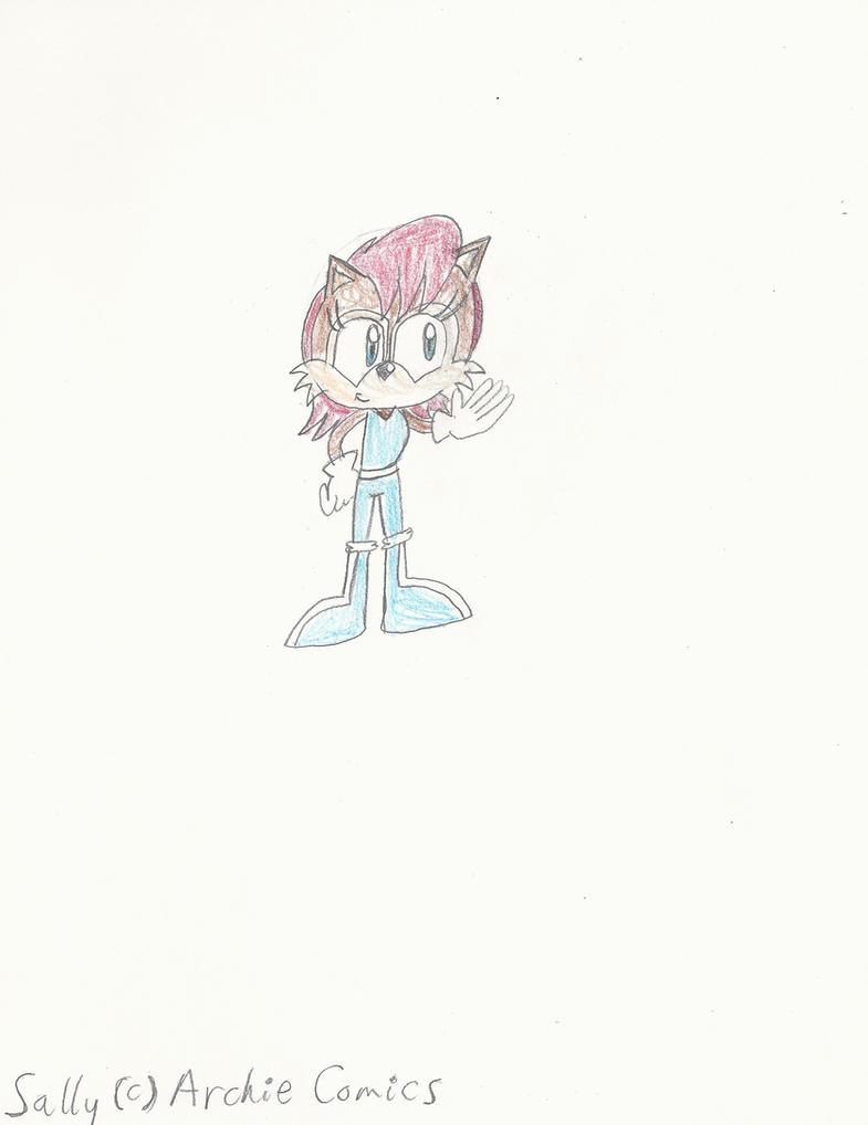 RQ: Sally in a bodysuit by mastergamer19