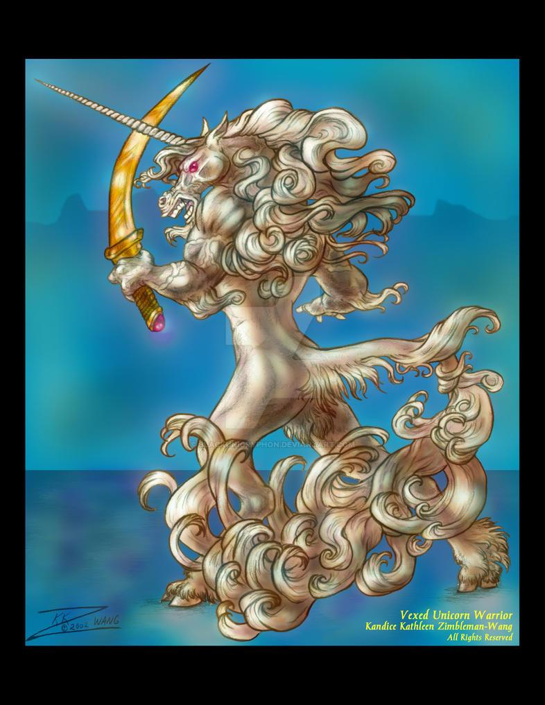 Vexed Unicorn Cool V by BlackUniGryphon