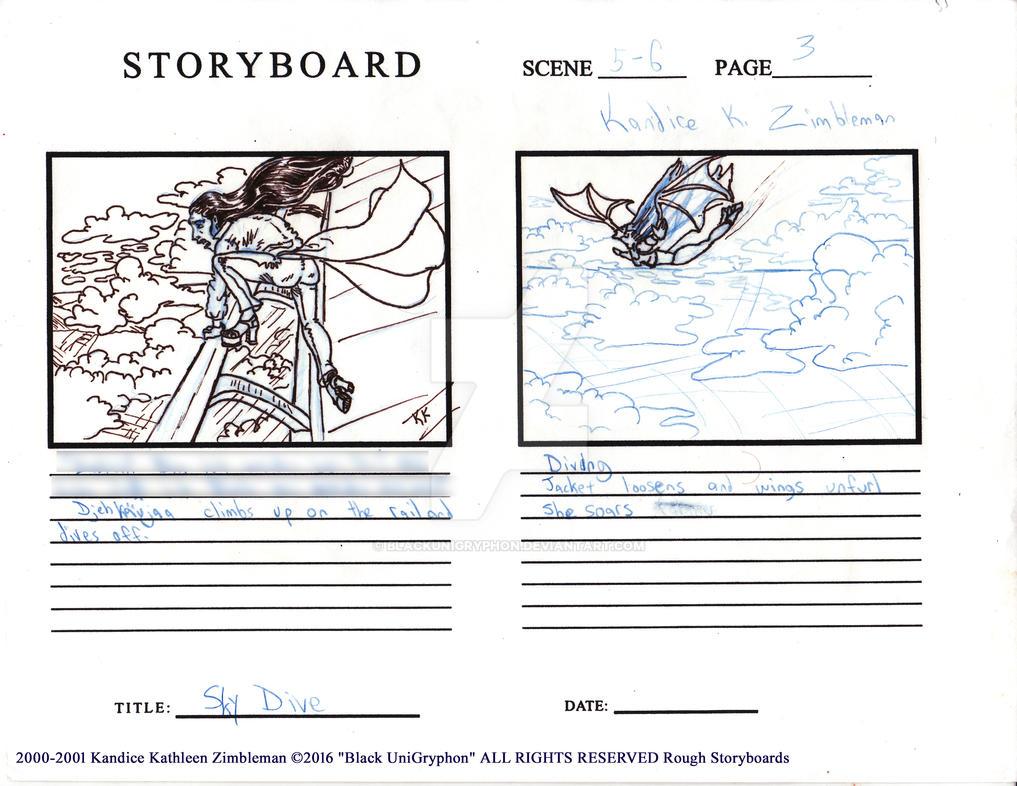 Djehkaujaa Zeppelin Flight Storyboards 003 by BlackUniGryphon