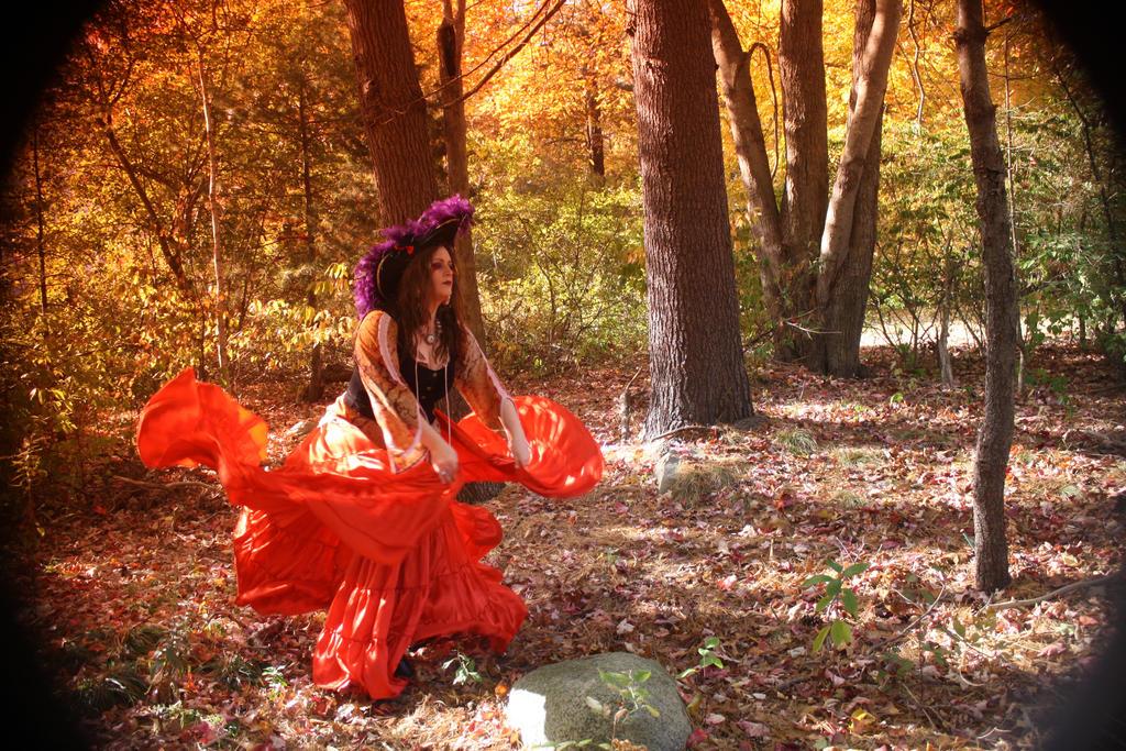 Gypsy Skirt Dance by BlackUniGryphon