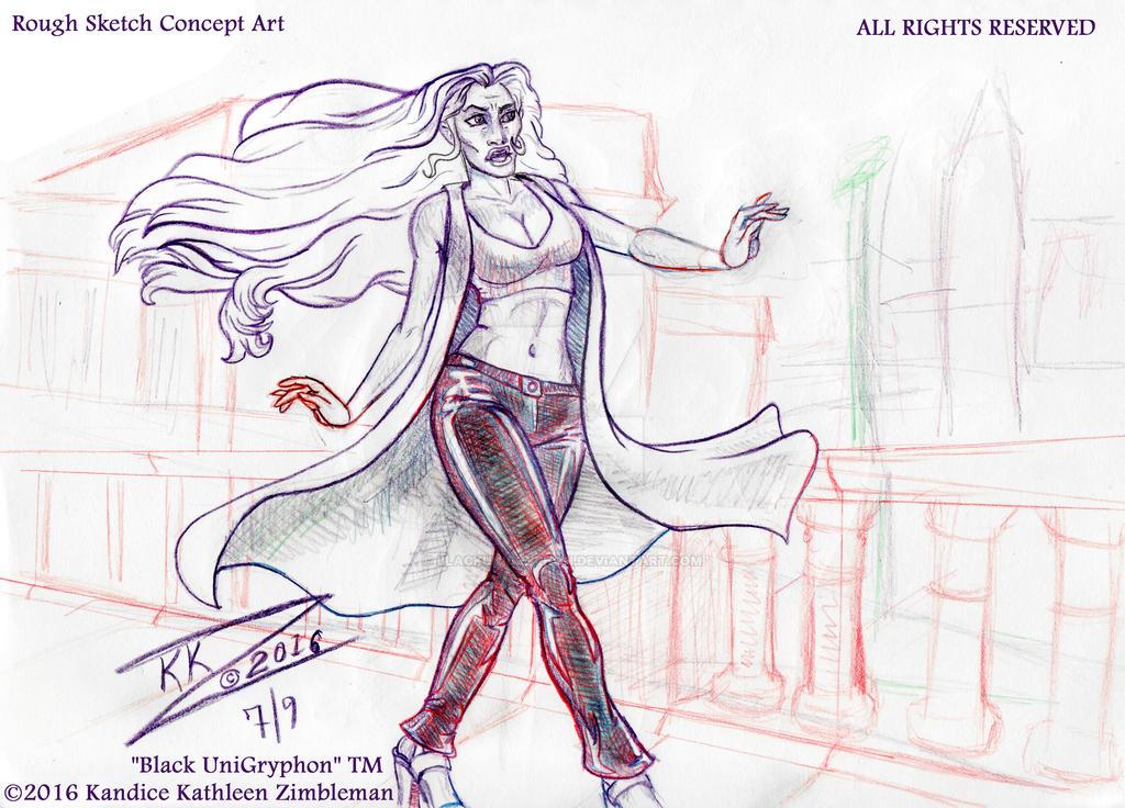 Djehkaujaa City Concept Doodle 001 by BlackUniGryphon