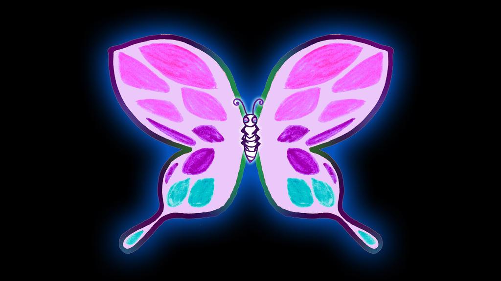 Heidi butterfly wings by BlackUniGryphon