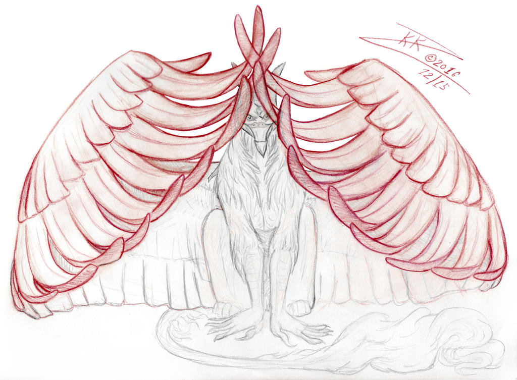 BUG Logo Wings Concept 002 by BlackUniGryphon