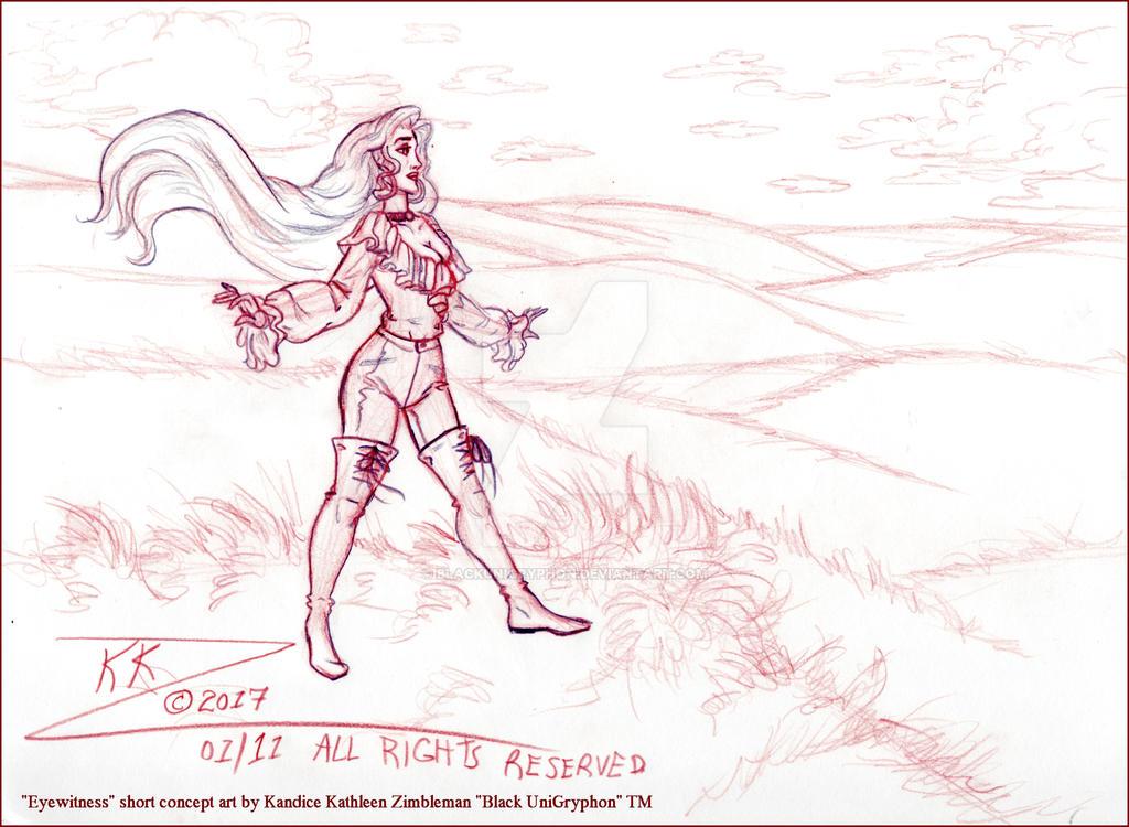 Eyewitness Hedroll Look Concept  Art 001 by BlackUniGryphon