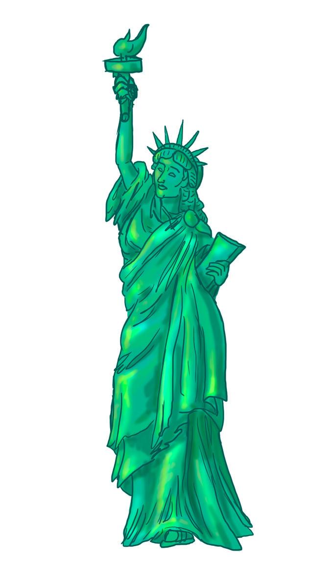 Liberty Animation Still Figure by BlackUniGryphon