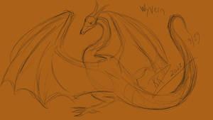 Dragon Doodle 002