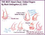 BEST HAND Cheat Folded Fingers
