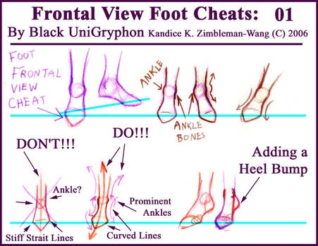 Frontal Point Foot Cheat