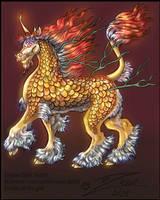 Low Res' Qilin Profile by BlackUniGryphon