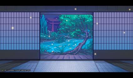 Dojo Background - Night