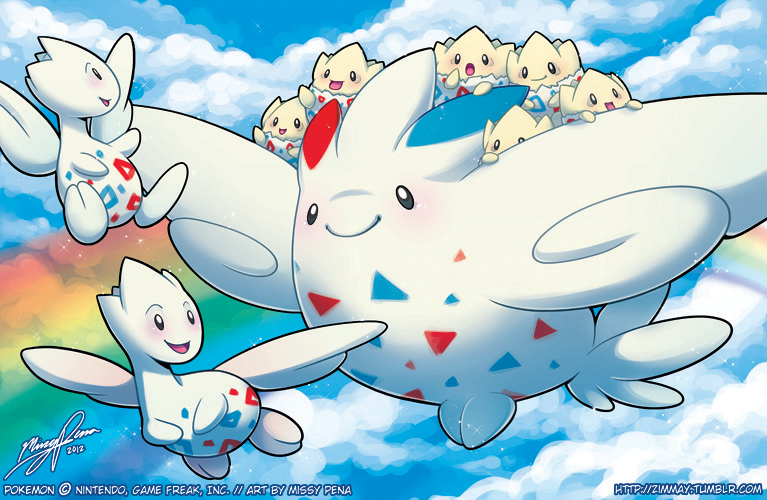Togekiss Express by missypena
