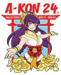 A-Kon 24 T-Shirt Design by missypena
