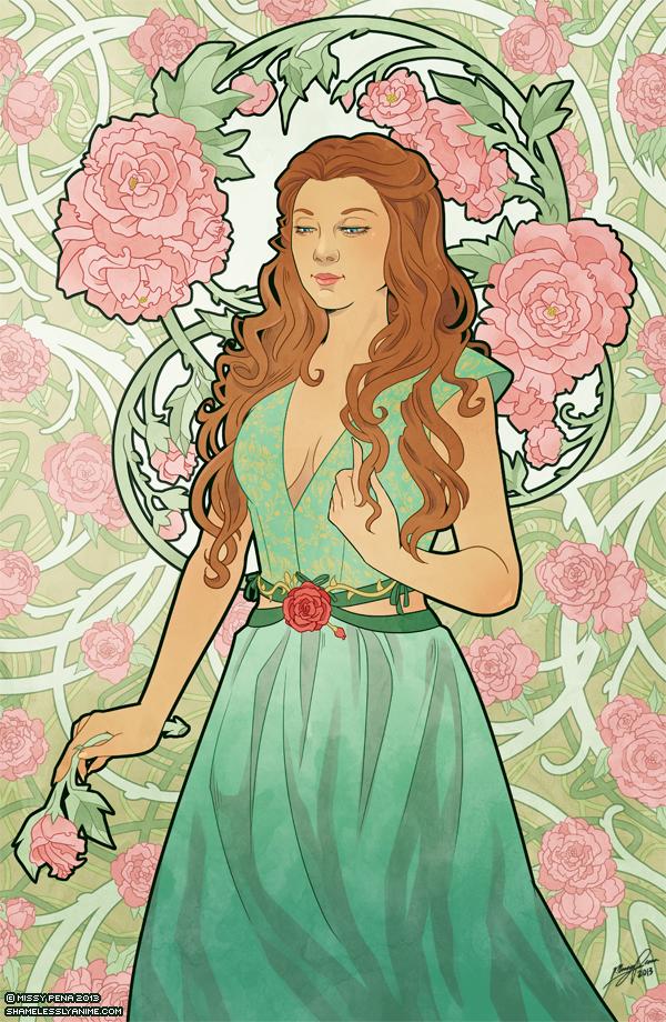 Rose Nouveau by missypena