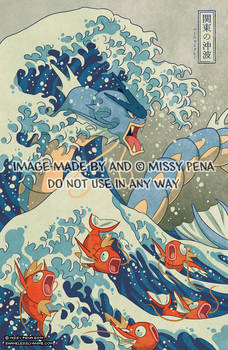 The Great Wave Off Kanto