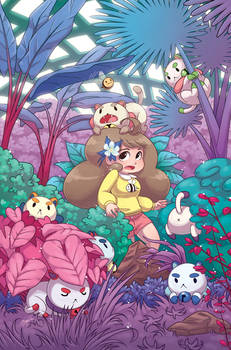 Puppycats in the Gardens