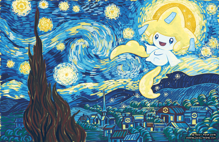 Starry Jirachi by missypena