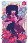 Precious Crystal Gems - Garnet
