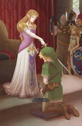 Zelda's Accolade by missypena