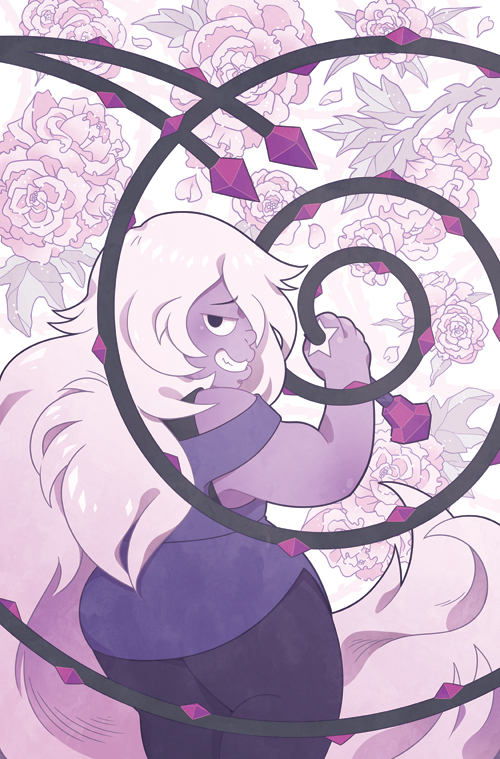 Here's the cover I did for issue 2 of Steven Universe, out in comic shops today!I do the covers well in advance of the comic for the sake of previews, so I read it at the same time as everyon...