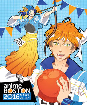 Anime Boston 2016 Program Cover