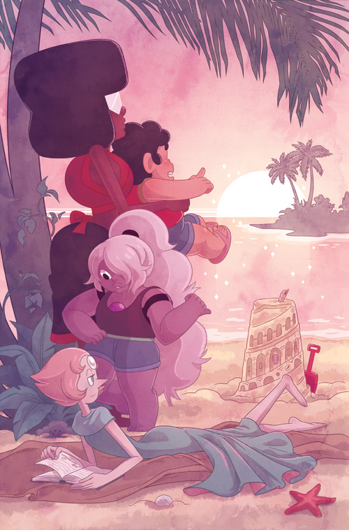 Another variant cover done for Steven Universe #1 - the exclusive for Wondercon 2017!