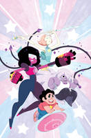 Steven Universe Issue 10 (A) Cover by missypena