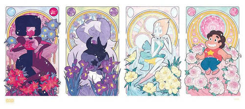 Steven Universe and the Precious Crystal Gems