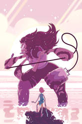 Steven Universe Issue 19 (A) Cover by missypena