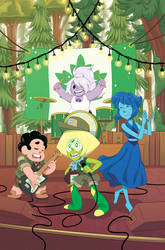Steven Universe Issue 21 (A) Cover by missypena