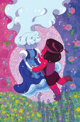 Steven Universe Issue 23 (A) Cover by missypena