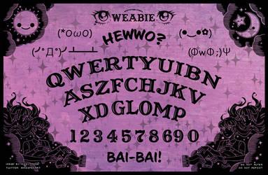 Weabie Board by missypena