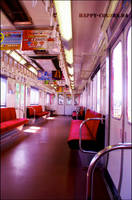 Kyoto to Nara - Train by happy-colors