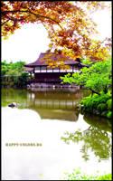 Kyoto - Garden III - Orange by happy-colors