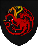 Personal arms of Aerion ''Brightflame'' Targaryen